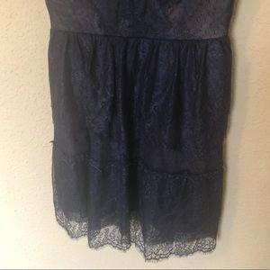 BCBGMaxAzria Dresses - NWOT BCBGMAXAZRIA Willa Carbon Lace Cocktail Dress